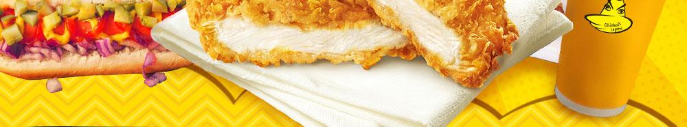 鸡排传说鲜嫩的滋味浓郁,入口爽滑,细而不腻。